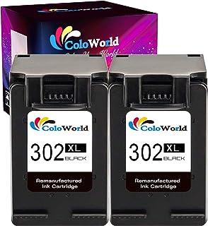 ColoWorld 302XL Cartuchos de tinta para impresora HP 302