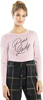 Review Women's Pink Lady Jumper Pink Pop Shimmer