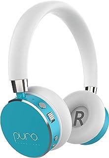 Puro Sound Labs BT2200 Over-Ear Headphones Lightweight Portable Kids Earphones with Safe Wireless, Volume Limiting, Blueto...