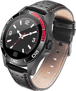 LTLJX Smartwatch, Reloj Inteligente Impermeable IP67 Pulsera Actividad Hombre Mujer, Inteligente Reloj Deportivo Reloj Fitness con 1.2'' Pantalla Táctil Pulsómetro Cronómetros para iOS Android