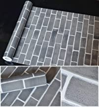 ZGMCGD Brick Waterproof Self-Adhesive Wallpaper Self-Adhesive Wallpaper Adhesive Stickers Bedroom ZGMCGD iving Room Backgr...