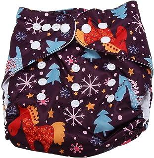 Swim Diaper Baby Infant Snap Absorbente Lavable Swimsuit Pañal Reutilizable Swim Pañal Para Niñas, Niños Clases De Natación, Talla Única Todos(#1)