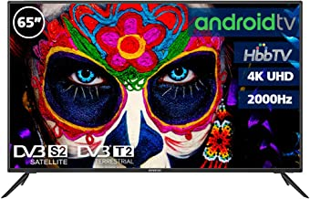 """Television LED 65"""" INFINITON 4K Smart TV-Android TV ("""