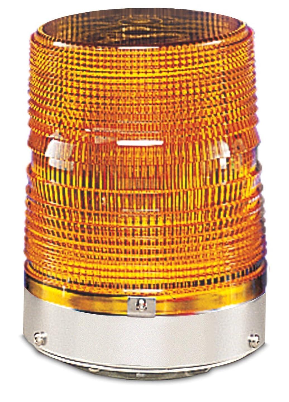 年齢精通した先行するFederal Signal 131DST-120A Starfire Strobe Warning Light, Double Flash, 1/2 NPT Pipe Mount, 120 VAC, Amber by Federal Signal