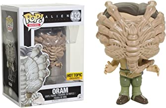 Oram (Hot Topic Exclusive): Alien - Covenant x Funko POP! Movies Vinyl Figure & 1 POP! Compatible PET Plastic Graphical Protector Bundle [#432 / 14816 - B]