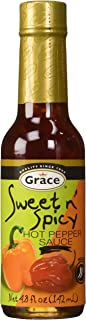Grace Sweet N' Spicy Hot Pepper Sauce Mild 142ml, 5oz, Made in Jamica