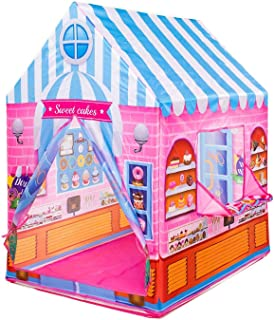 Candy House Play Tent With 50 Play Balls Included