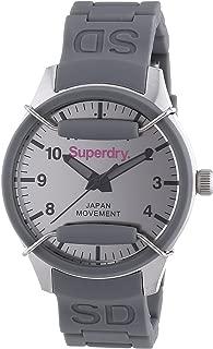 SYL136E Ladies Scuba Mirror Grey Silicone Strap Watch