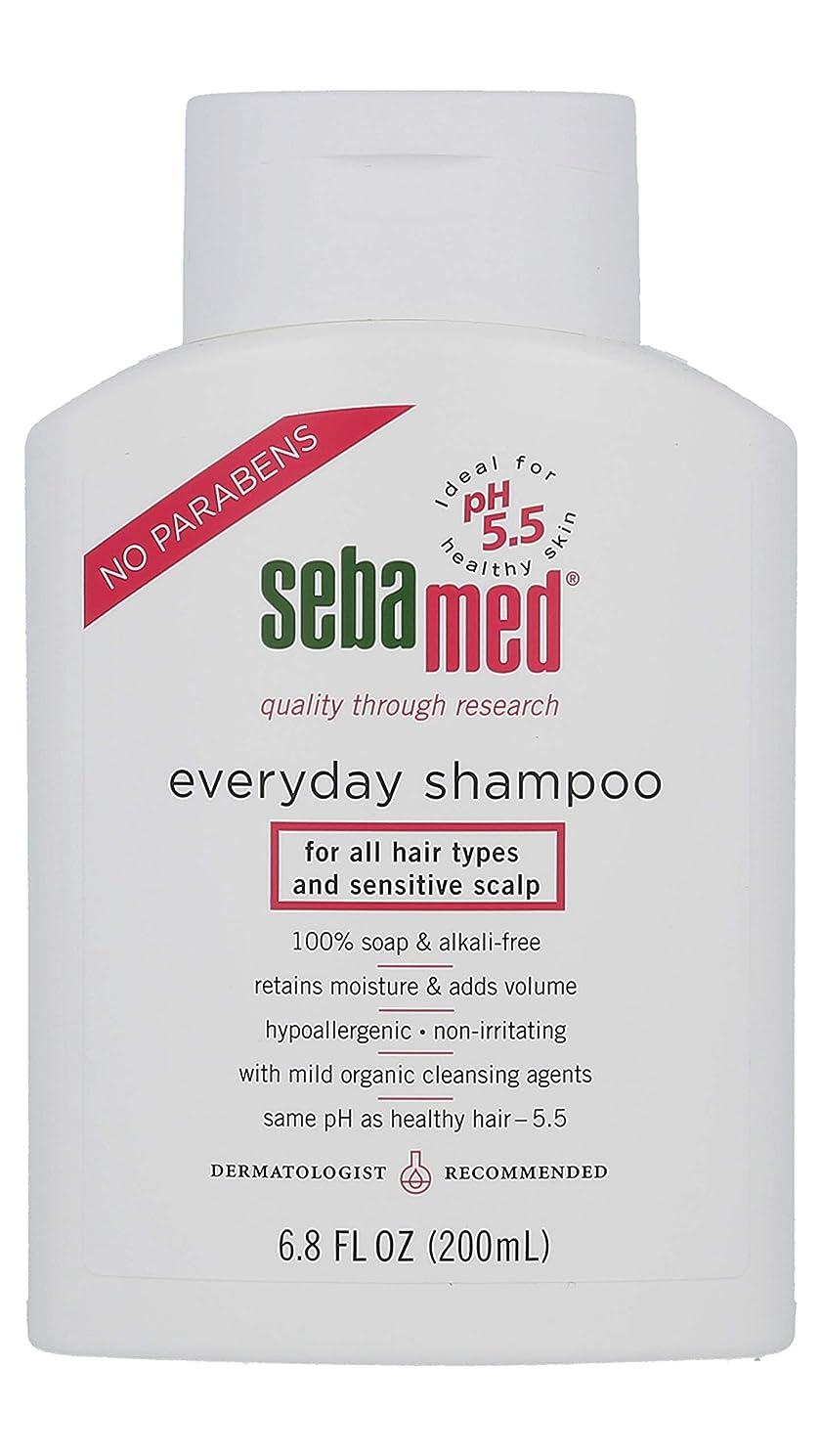 浪費ビル生物学Sebamed everyday shampoo, for all hair types and sensitive scalp, 6.8 Fluid Ounce Bottle by Sebamed