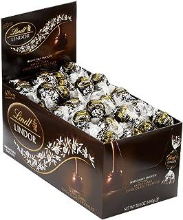 Lindor Truffles 60% Extra Dark Chocolate Box 120-Count