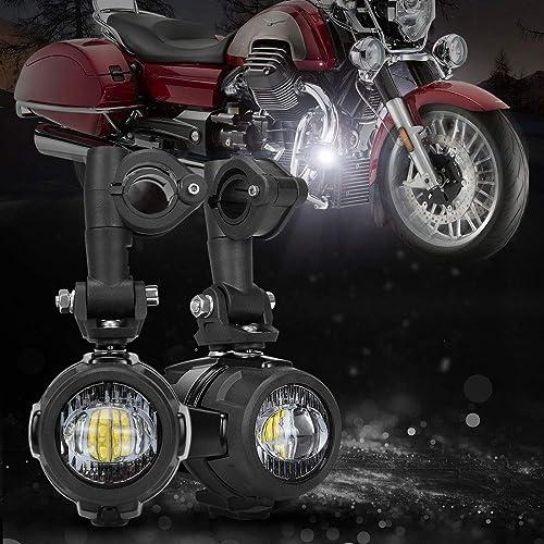 Motorcycle Auxiliary Lights: Amazon com