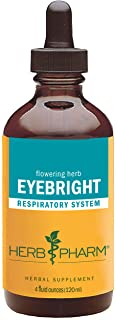 Herb Pharm Certified Organic Eyebright Liquid Extract for Respiratory System Support - 4 Ounce