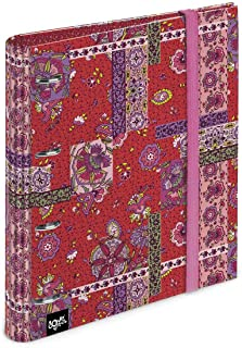 Undercover SIIT0300 modelo surtido A4, esquinas reforzadas color azul y rosa Carpeta con gomas color