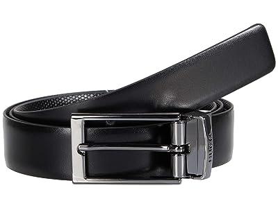 BOSS Hugo Boss Gilvin Leather Belt by HUGO (Black) Men