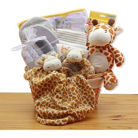 Safari Baby Gift Bibs and Burp Cloths Set Newborn Boy Gift