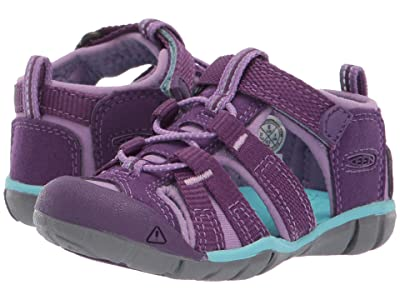Keen Kids Seacamp II CNX (Toddler) (Majesty/Tibetan Stone) Girls Shoes