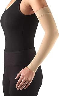 Truform Lymphedema Compression Arm Sleeve, 20-30 mmHg Post Mastectomy Support, Beige, Medium (20-30 mmHg)