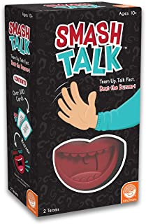 MindWare Smash Talk – Word-guessing Party Game for Families – Fun for Kids & Adults – 324 Cards – for 2 Teams, Ages 10+