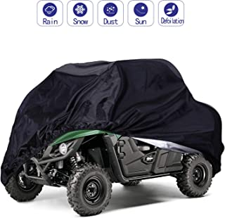 UTV Cover,Waterproof Protects 4 Wheels Rain Covers from Sun or Snow for most Yamaha, Polaris, Kawasaki,158.10