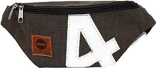 360° Taschenagentur Kramer Gürteltasche Bum Bag Persenning mit Bauchgurt aus recyceltem Segeltuch von 360 Grad