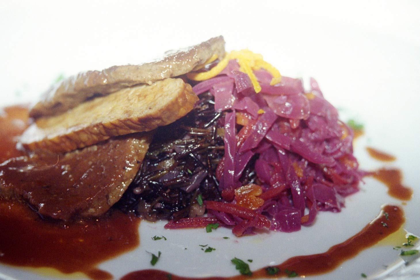 Los Angeles Mall Eco-Cuisine Seitan Beef Vegan Mix Phoenix Mall Style