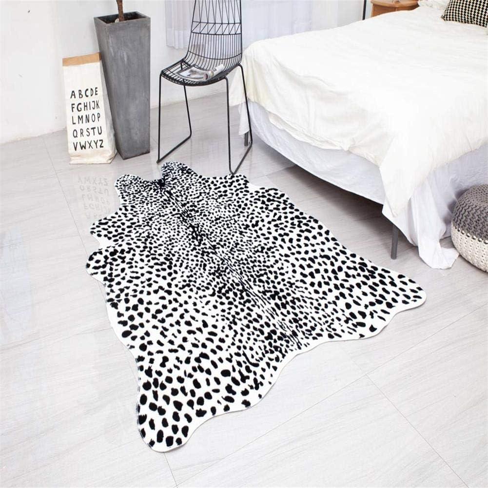 Large Leopard Print Rug,6.6'x4.9' Feet Skin Cowhide Max 85% Ranking TOP13 OFF Faux Rug A