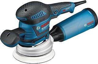 Bosch Professional GEX 125-150 AVE - Lijadora excéntrica (400 W, Microfiltro, Ø platos lijadores 125/150mm, en L-BOXX)