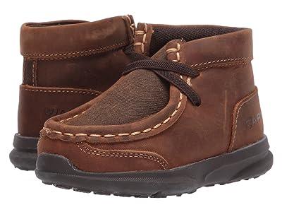 M&F Western Kids Heath (Toddler) (Brown) Boys Shoes