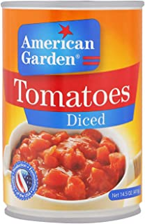 American Garden Diced Tomatoes, 411 g