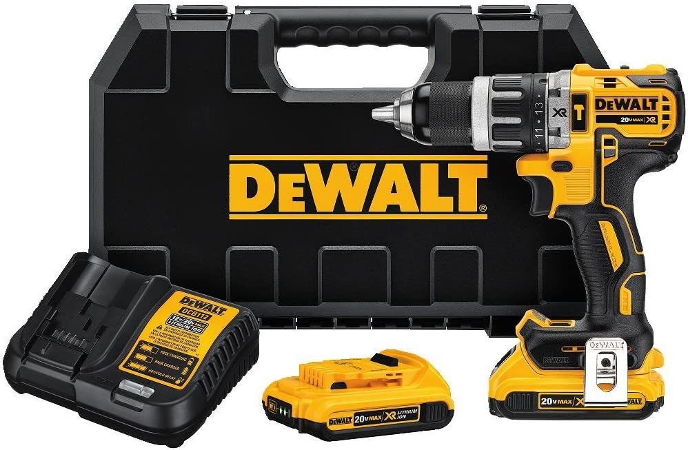 DEWALT 20V Fixed price for sale MAX XR Compact Hammer 1 Ho Popular standard Drill 2.0-Amp Kit 2-Inch