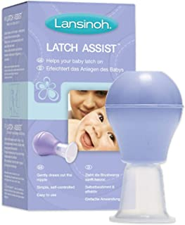 Lansinoh Latch Assist Nipple Everter with Case for Breastfeeding mums
