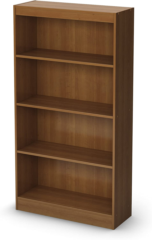 South Shore 4-Shelf Storage Bookcase, Morgan Cherry