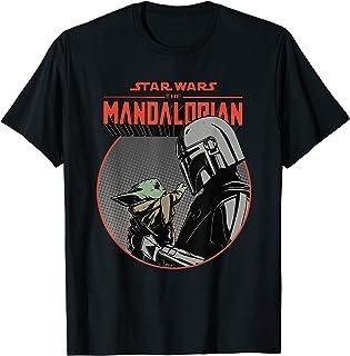Star Wars The Mandalorian Mando and the Child Retro T-Shirt