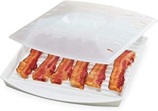 Prep Solutions by Progressive Microwave Bacon Grill with Cover