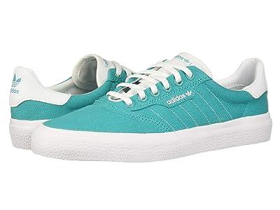 adidas Skateboarding 3MC (Hi-Res Aqua/Footwear White/Footwear White) Men