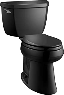 Kohler K-3713-7 Highline Classic Comfort Height Two-Piece Elongated Toilet with 10
