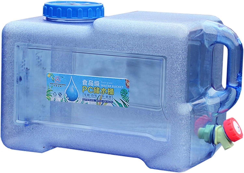 arthomer Recipiente de 8L para Almacenamiento de Agua al Aire Libre, depósito de Agua Mineral de Calidad alimentaria, para Coche, Camping, Catering, Mesa de café