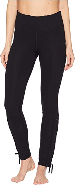 High-Rise Full-Length Pixi Lace-Up Leggings