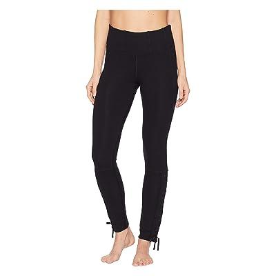 Free People Movement High-Rise Full-Length Pixi Lace-Up Leggings (Black) Women