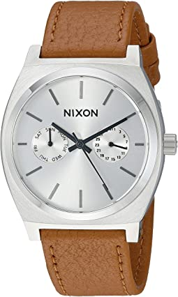 Nixon - Time Teller Deluxe Leather