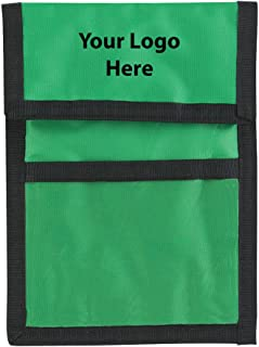 nylon badge wallet