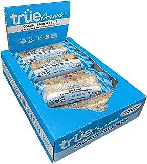 True Organics Organic Coconut, Nut & Fruit, 12Count