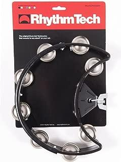 Rhythm Tech Tambourine, Black, inch (DST10)