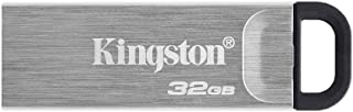 Kingston 32GB DataTraveler Kyson USB Flash Drive USB 3.2 Gen 1 speeds Metal DTKN/32GB