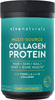 Multi Collagen Protein Powder, Unflavored (23.7 oz) - Collagen Peptides Protein Powder for Healthy Hair, Skin & Nails - Pa...