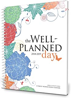 Well Planned Day, Family Homeschool Planner, July 2018 - June 2019