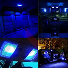 SCITOO LED Interior Lights 8pcs Blue Package Kit Accessories Replacement for 2011-2013 Kia Sorento KS1