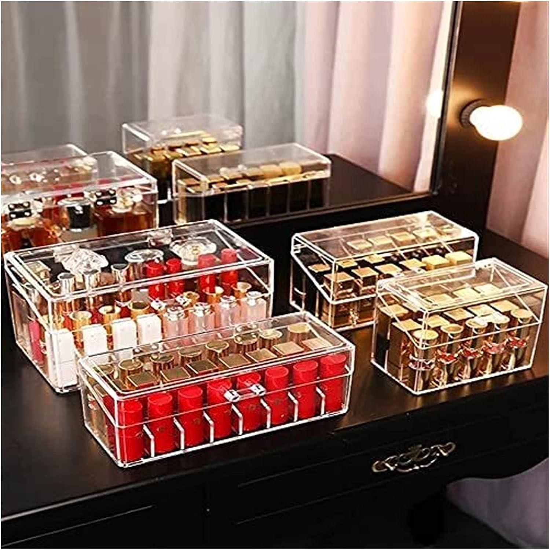 sacfun Acrylic Japan Maker New Lip Gloss Holder Stand Debri Display Lipstick Los Angeles Mall Box