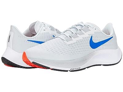 Nike Air Zoom Pegasus 37 (Pure Platinum/Racer Blue/Wolf Grey) Men