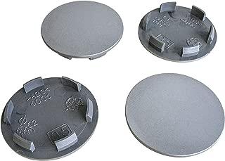 HANWAY 4 coprimozzo Adesivo da 56 mm per Auto Kia Argento